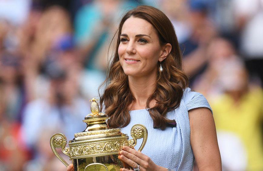 Catherine Middleton uručila je pehar Novaku Đokoviću