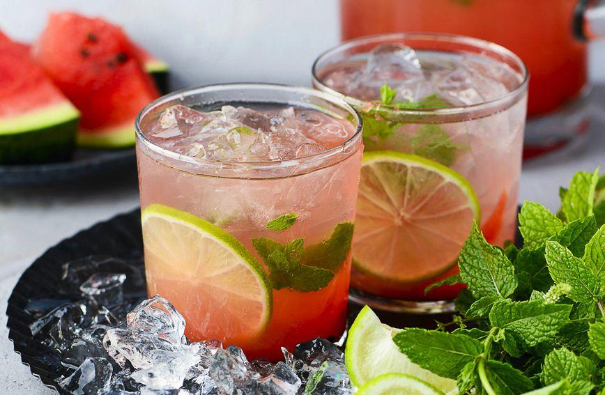 Džin-tonik s lubenicom