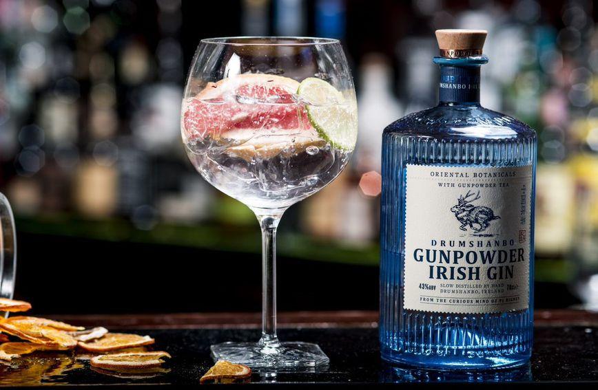 Džin-tonik s jedinstvenim džinom Gunpowder Irish