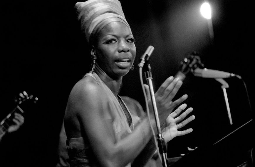 Nina Simone bila je slavna američka pjevačica francuskog porijekla