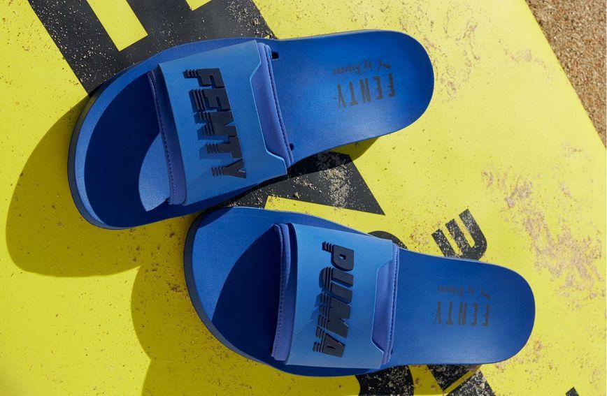 Ljetne šlapice 'Surf Slide' brenda Fenty Puma by Rihanna