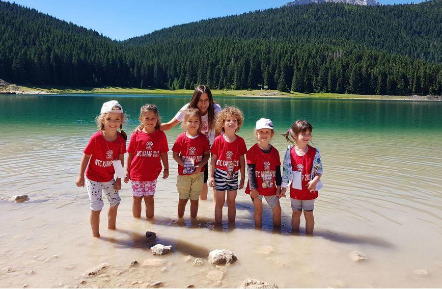 Ljetni NTC kamp za djecu održava se u Dugoj uvali