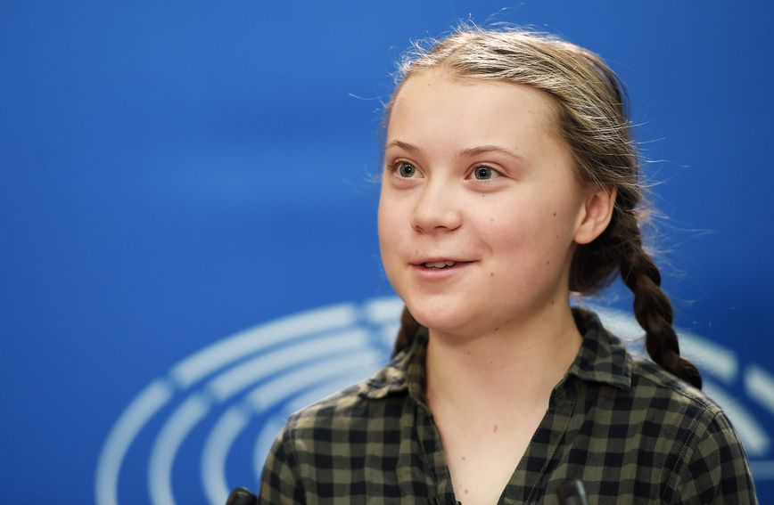 Greta Thunberg održala je govor i u Europskom parlamentu u Strasbourgu