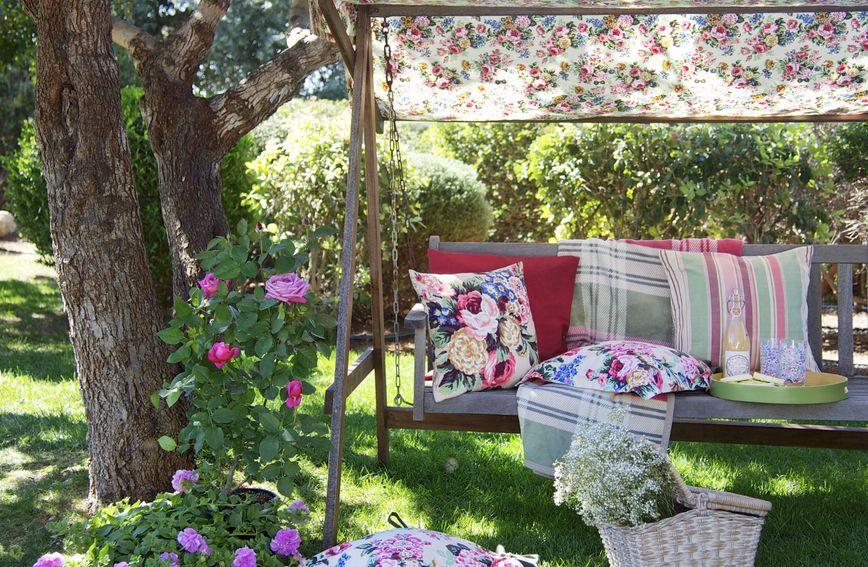 Ideja za dekoriranje piknika u dvorištu ili vrtu
