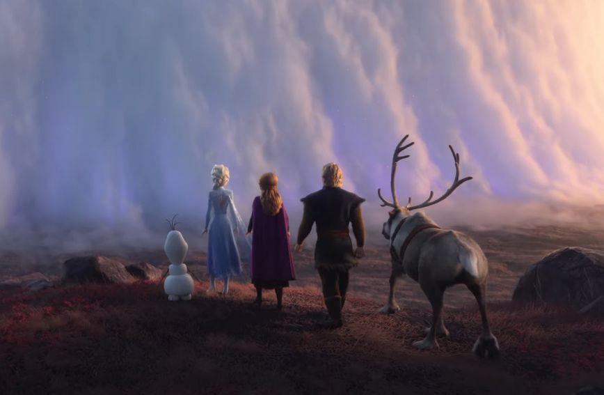 Scena iz crtića 'Snježno kraljevstvo 2' koji u kina stiže 22. studenog