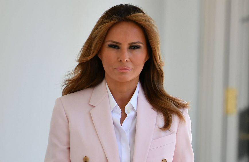 Melania Trump u odijelu Calvina Kleina