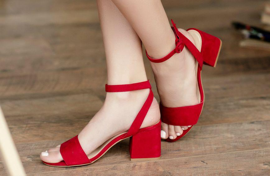 Sandale s potpeticom umjerene veličine nosive su tijekom cijelog dana