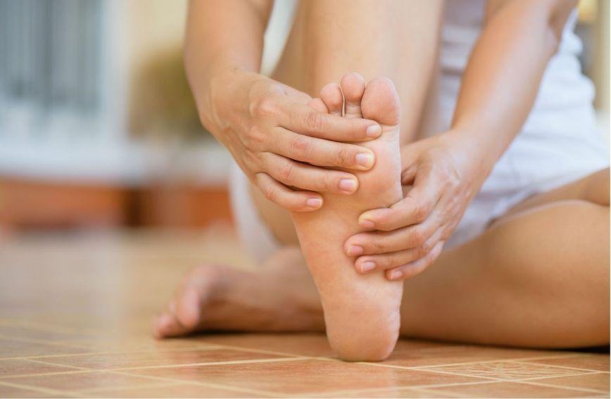 Osjećaj ukočenosti u stopalima