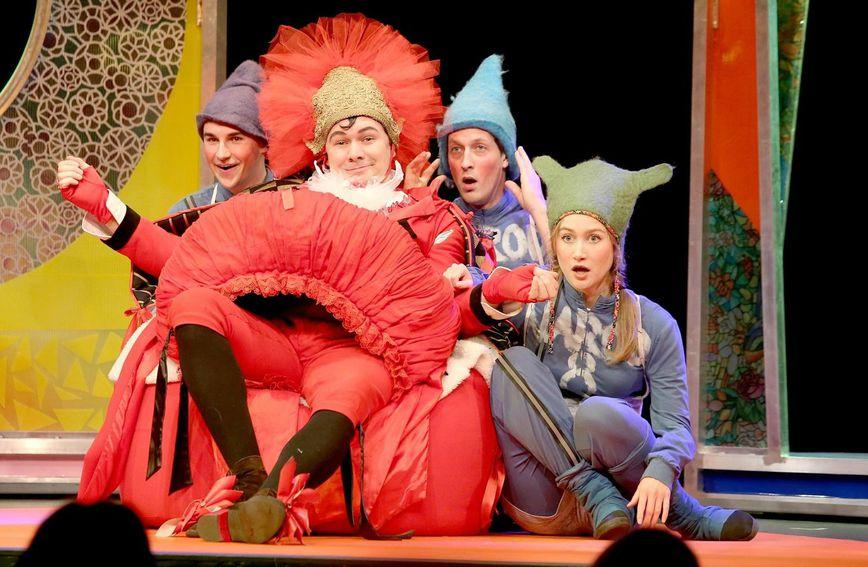 Predstava 'Plava boja snijega' je na repertoaru kazališta Žar ptica