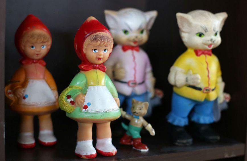 Na Festivalu igračaka u Ivanić Gradu mogu se vidjeti razne stare igračke