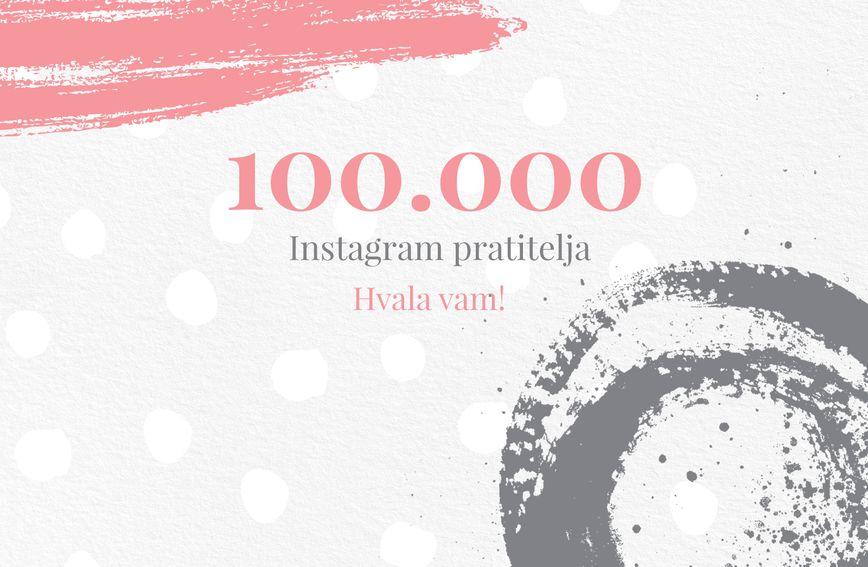 Instagram profil zadovoljna.hr ima 100.000 pratitelja