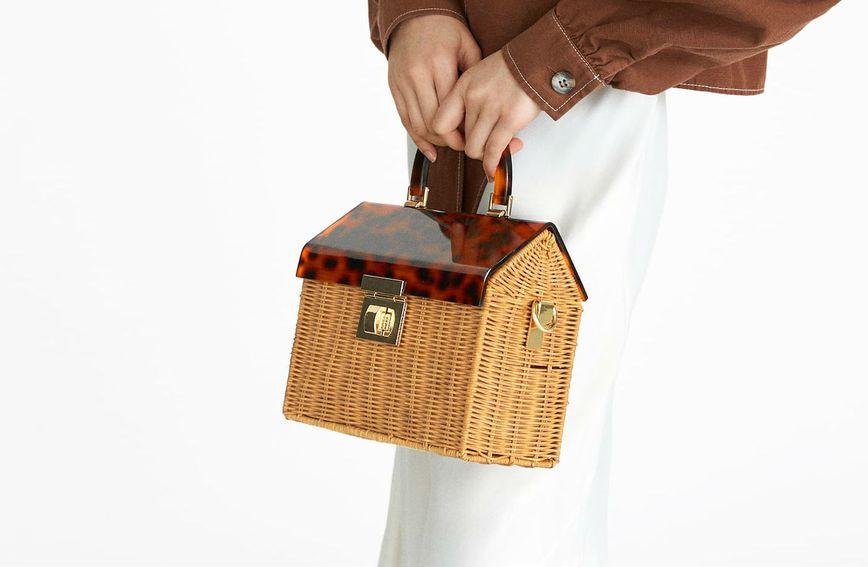 Pletene torbice mogu biti vrlo elegantne