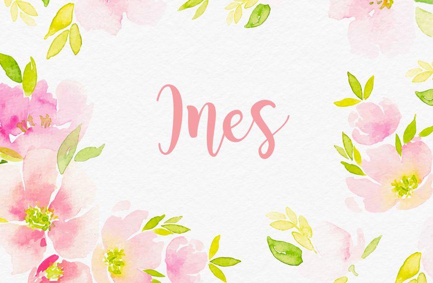 Na dan 2. ožujka imendan slave osobe koje nose ime Ines
