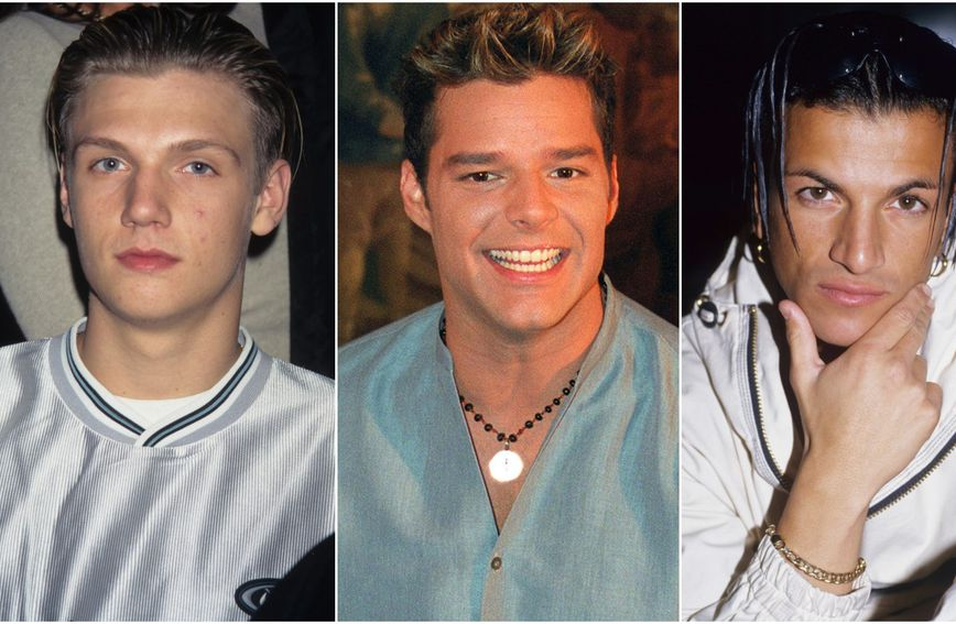Nick Carter, Ricky Martin i Peter Andre