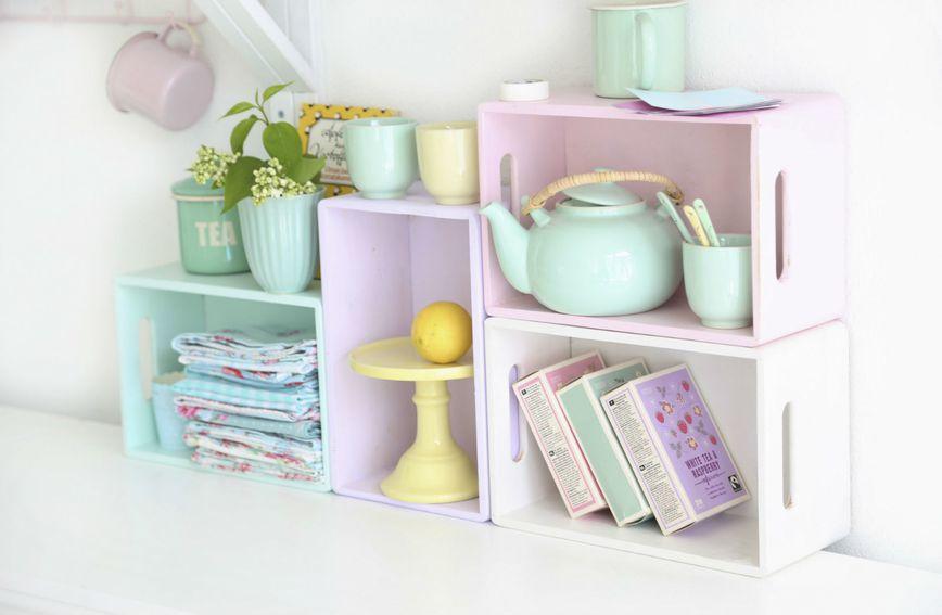 Ideje za uređenje doma s detaljima pastelnih boja