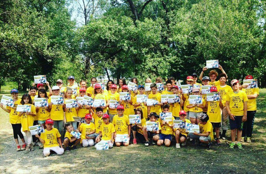 na Ljetni Softball Kamp na Jarunu organizira Softball Klub Princ