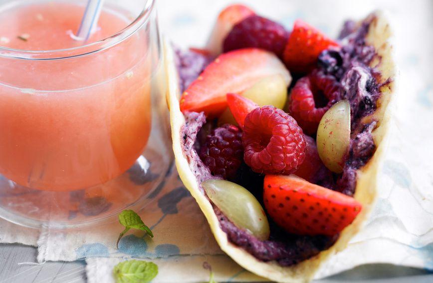 Tortilje s voćem idealne su za druženje s prijateljicama