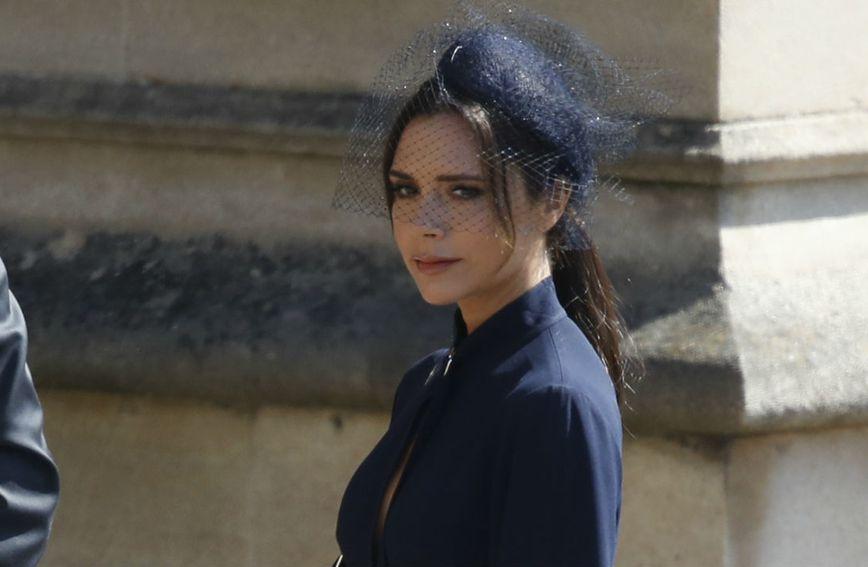 Victoria Beckham na kraljevskom vjenčanju