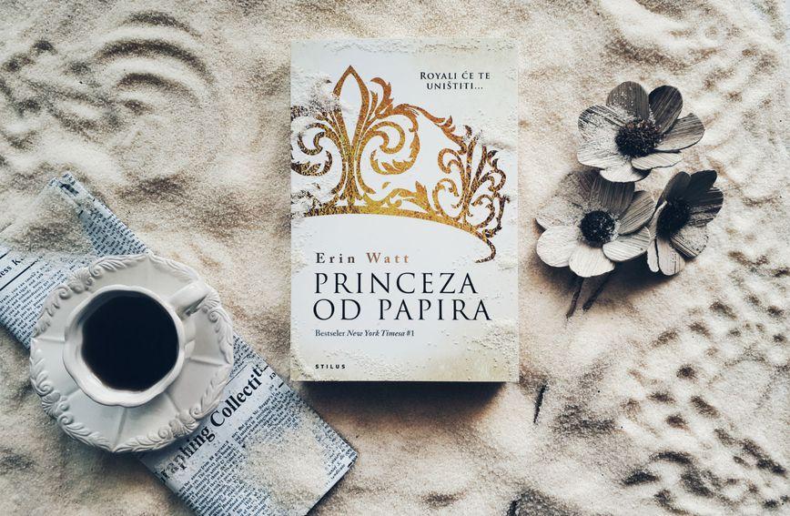 Naslovnica knjige Princeza od papira