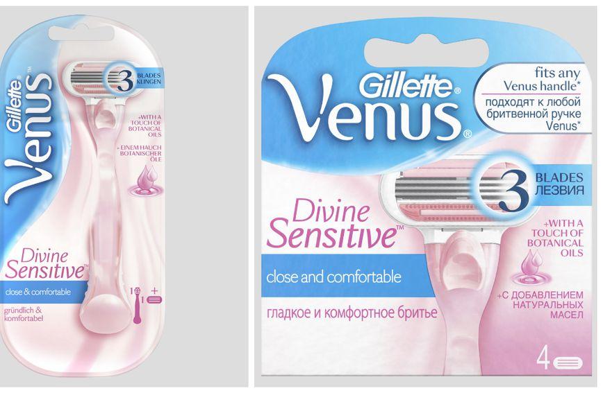 Gillette Venus Divine Sensitive