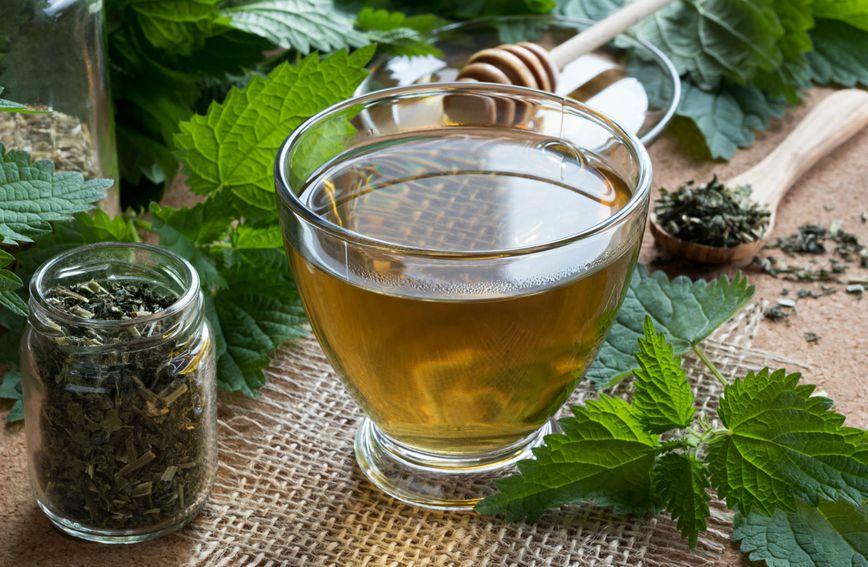 Ljekovitu koprivu najčešće se koristi u obliku čaja