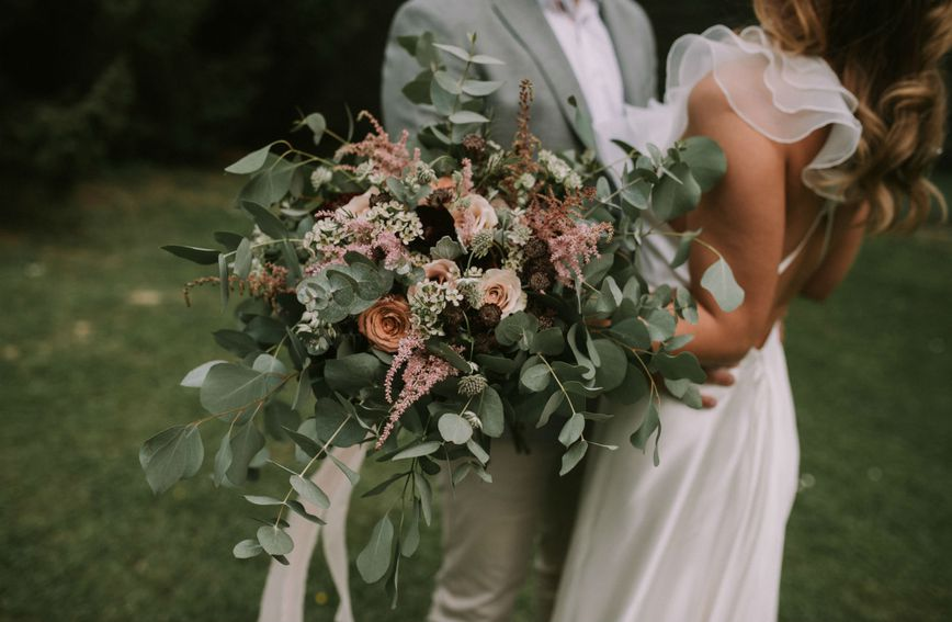Za moderno vjenčanje iz snova odaberite divlji buket