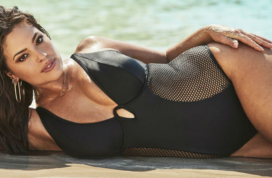 Plus size model Ashley Graham je zaštitno lice brenda Swimsuits for All