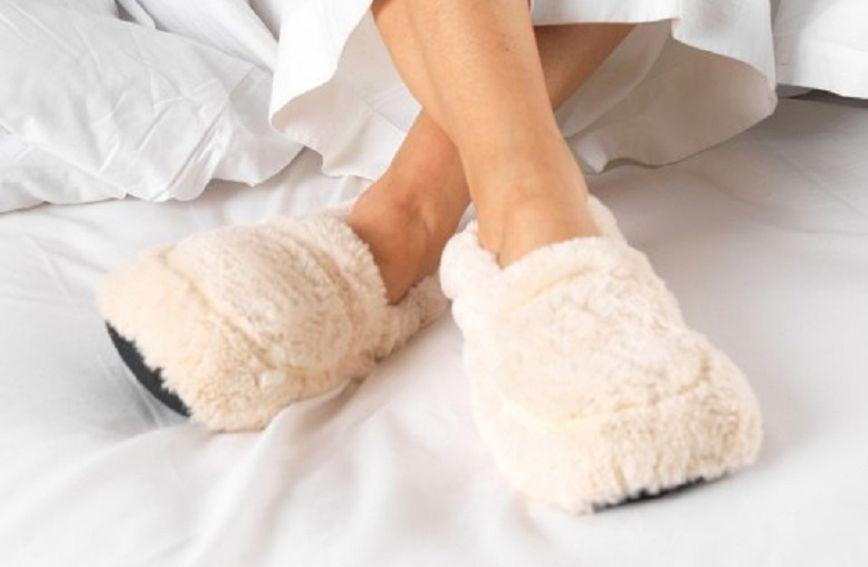 Papuče Warmies griju se u mikrovalnoj pećnici