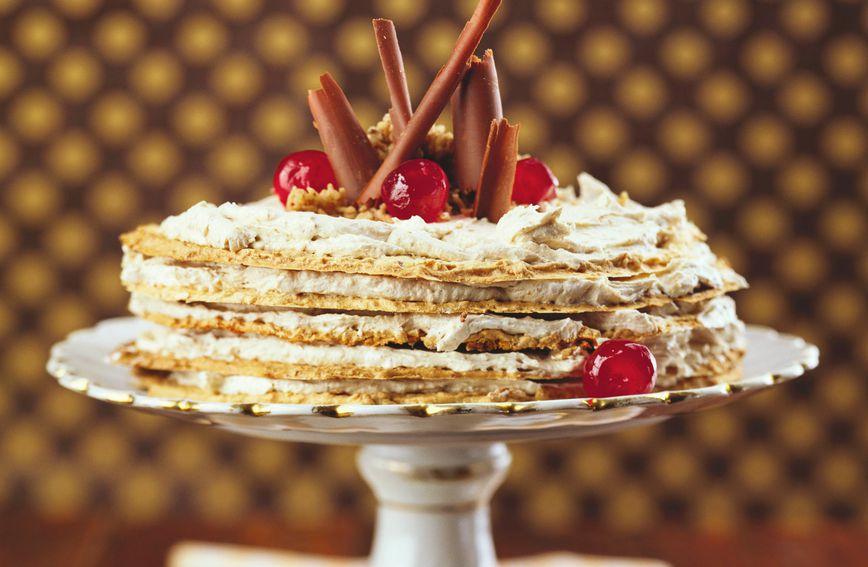 Torta s kesten-pireom