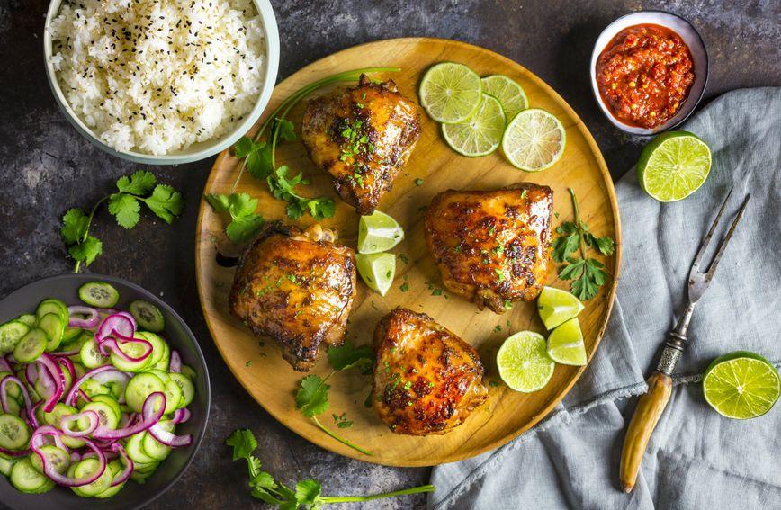 Puretina i jasmin riža dobar su odabir namirnica za večernji obrok
