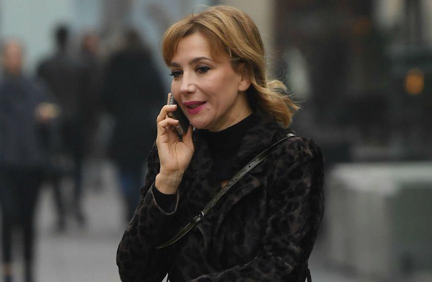 Glumica Ecija Ojdanić prošetala je centrom Zagreba