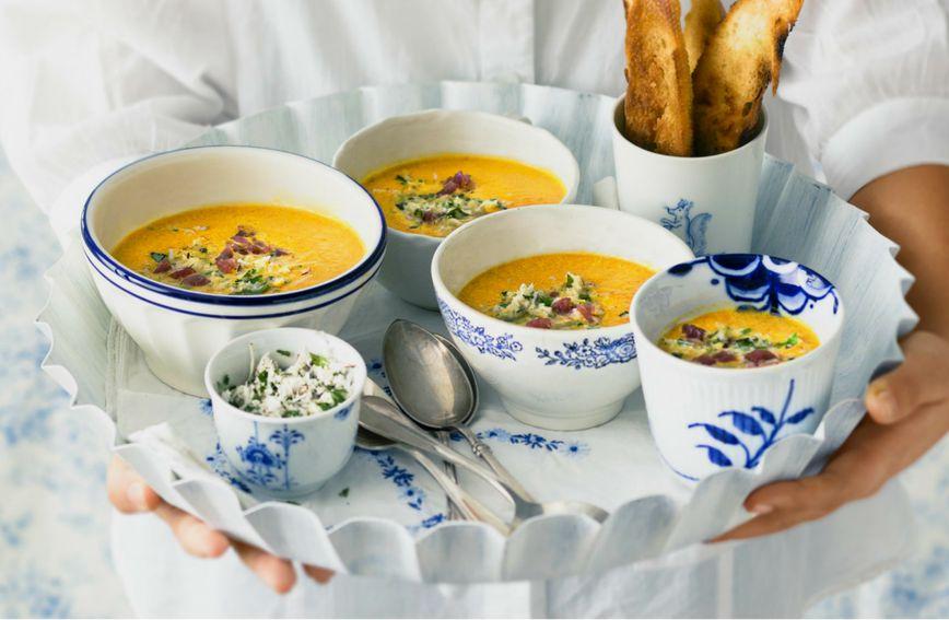 Krem juha od batata i mrkve