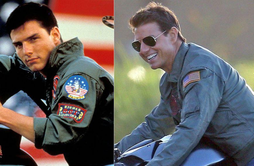 Tom Cruise u 'Top Gunu' prije 32 godine i danas