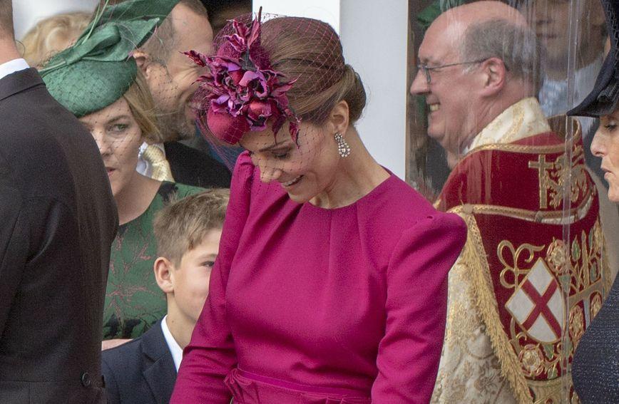 Catherine Middleton na vjenčanju princeze Eugenie