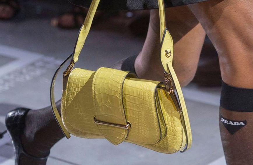 Pradin model na tjednu mode u Milanu (Foto: Prodimedia)