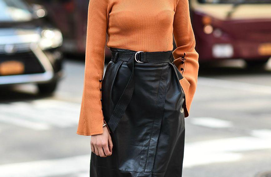 Kožnata suknja nikad ne izlazi iz mode