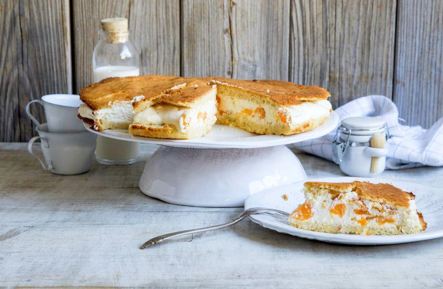 Cheesecake s mandarinama