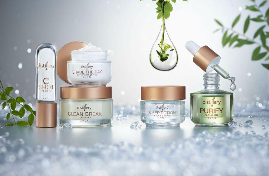 Avon Distillery proizvodi za njegu kože