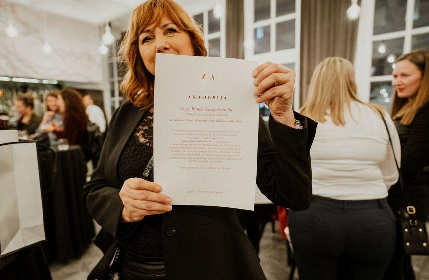 Branka Ercegović-Gulin jedna je od polaznica Zadovoljna akademije
