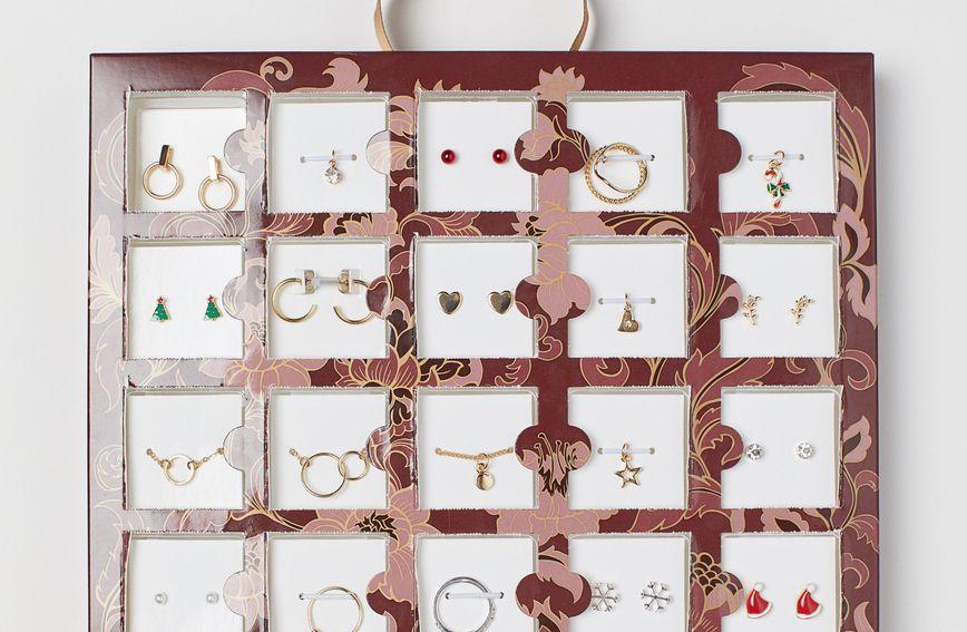 Adventski kalendar iz H&M-a s nakitom