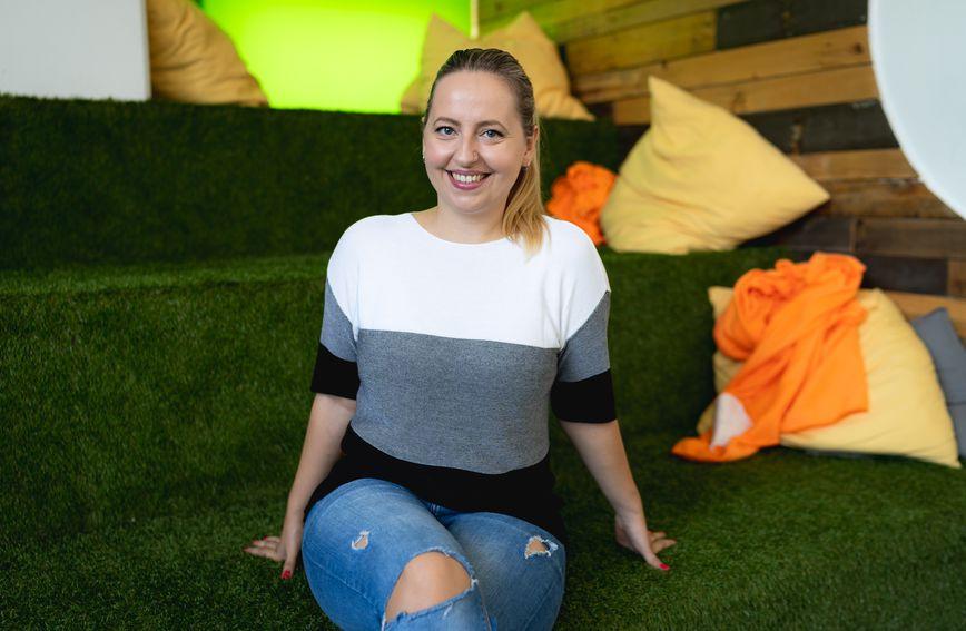 Mia Biberović - mentorica smjera digital u Zadovoljna akademiji
