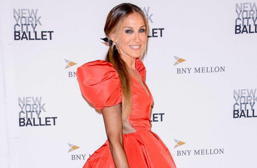 Sarah Jessica Parker u balskoj haljini na događanju New York City Ballet's Fall Fashion Gala