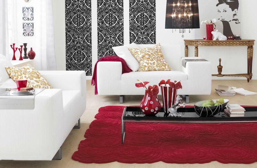 Duboka crvena boja kao inspiracija za uređenje doma