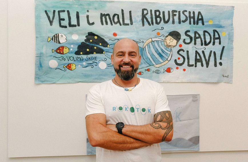 Domagoj Jakopović Ribafish predstavio je nastavak projekta RokOtok