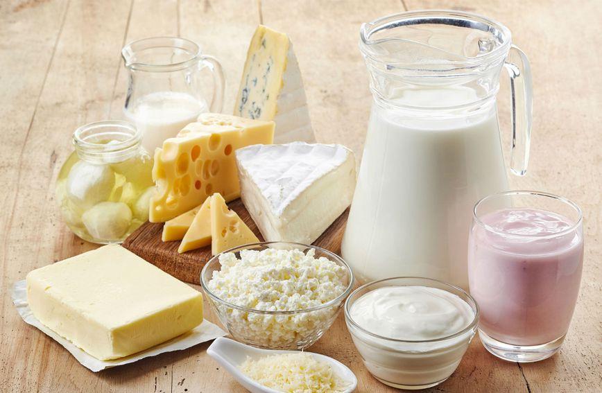 Mliječni proizvodi sadrže važne hranjive tvari poput kalcija, bjelančevina i magnezija