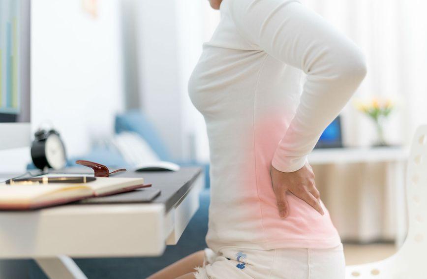 Mnogo je uzroka bolnih stanja na kralježnici, a sjedenje je jedan od njih