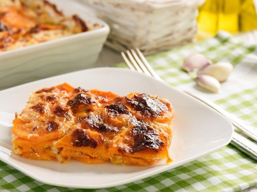 Recept za gratinirani slatki krumpir