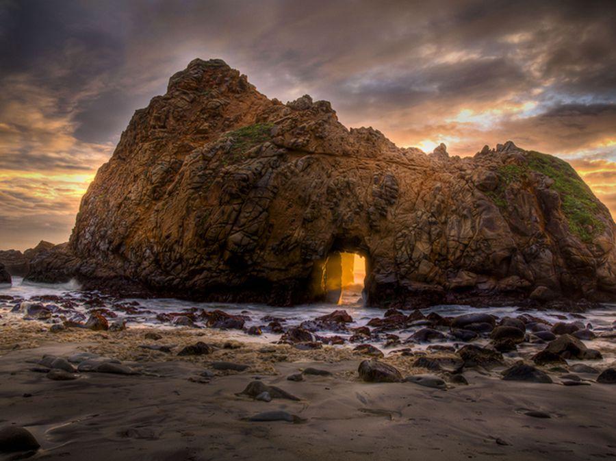 Pfeiffer plaža, Kalifornija - 3
