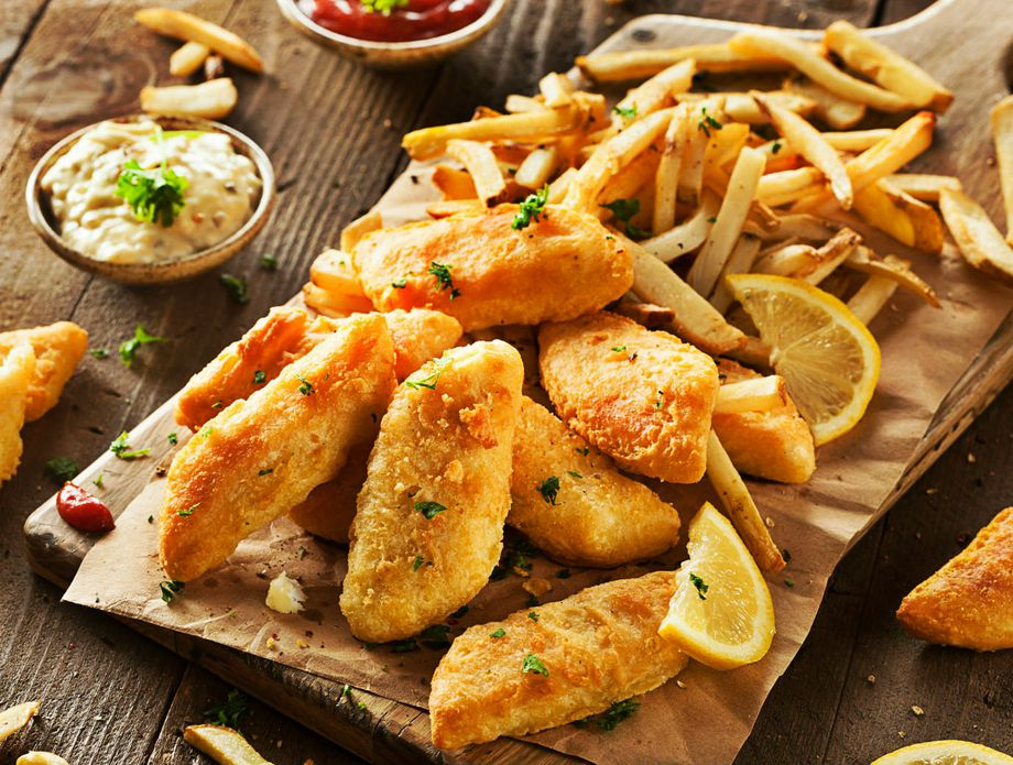 Riba i krumpirići