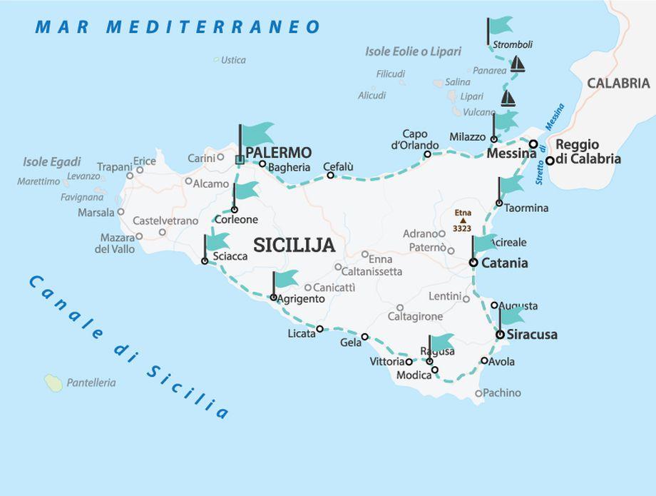 Sicilija putopis